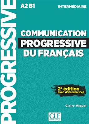 خرید کتاب فرانسه Communication progressive - intermediaire + CD - 2eme edition