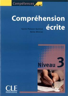 خرید کتاب فرانسه Comprehension ecrite 3 - Niveau b1