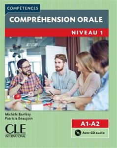 خرید کتاب فرانسه Comprehension orale 1 - Niveau A1/A2 + CD - 2eme edition
