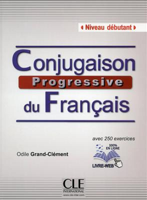 خرید کتاب فرانسه Conjugaison progressive du francais - Niveau debutant + CD