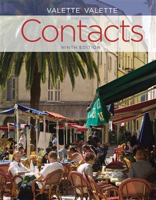 خرید کتاب فرانسه Contacts (9th edition)