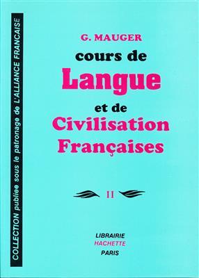 خرید کتاب فرانسه Course De Langue Et De Civilisation Françaises Mauger 2