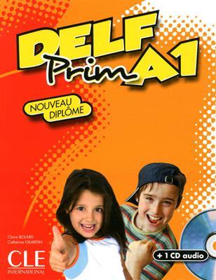 خرید کتاب فرانسه DELF PRIM A1 Cle + CD audio