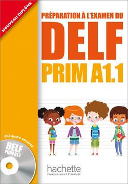 خرید کتاب فرانسه DELF PRIM A1.1 + CD audio