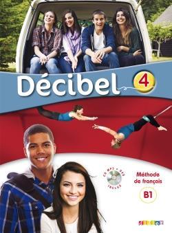 خرید کتاب فرانسه Decibel 4 niv. B1.1 - Guide pedagogique