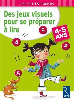 خرید کتاب فرانسه Des jeux visuels pour se preparer a lire 4-5 ans