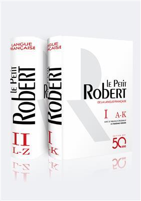 خرید کتاب فرانسه Dictionnaire Le Petit Robert de la langue française - Édition des 50 ans