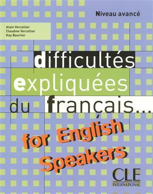 خرید کتاب فرانسه Difficultes expliquees - for English speakers