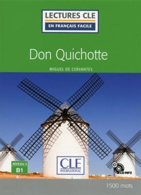 خرید کتاب فرانسه Don Quichotte - Niveau 3/B1 + CD