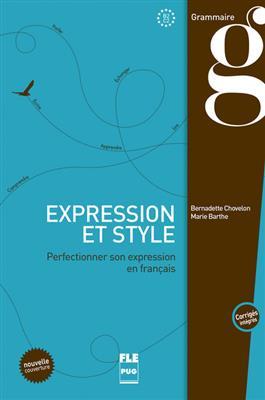 خرید کتاب فرانسه EXPRESSION ET STYLE (CORRIGÉS INTÉGRÉS) - B2-C1