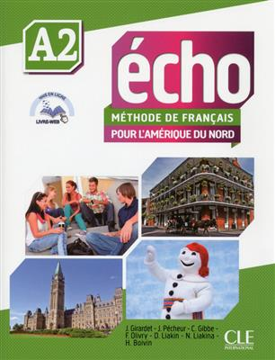 خرید کتاب فرانسه Echo A2 + cahier + CD