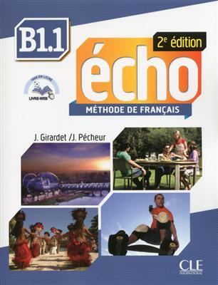خرید کتاب فرانسه Echo - Niveau B1.1 +Cahier - 2eme edition