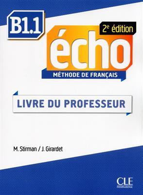 خرید کتاب فرانسه Echo - Niveau B1.1 - Guide pedagogique - 2eme edition