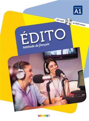خرید کتاب فرانسه Edito A1 + Cahier + DVD