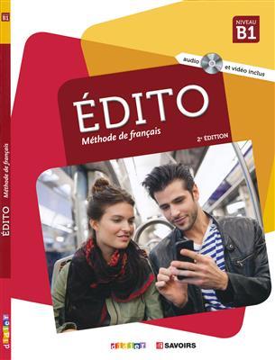 خرید کتاب فرانسه Edito B1 (éd. 2018) + cahier + DVD