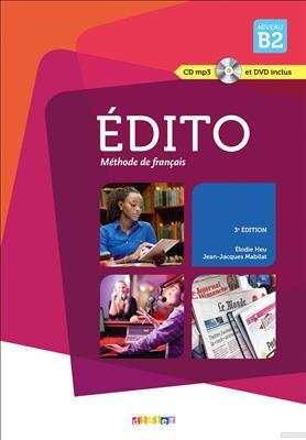 خرید کتاب فرانسه Edito B2 (ed. 2015) + Cahier + CD