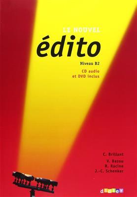 خرید کتاب فرانسه Edito b2 + CD mp3 + DVD