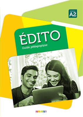 خرید کتاب فرانسه Edito niv. A2 - Guide pedagogique