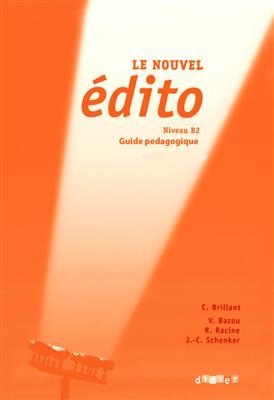 خرید کتاب فرانسه Edito niv.b2 - Guide pédagogique