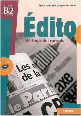 خرید کتاب فرانسه Edito niveau B2 چاپ قدیمی