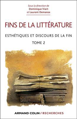 خرید کتاب فرانسه Esthetiques et discours de la fin Tome 2