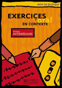 خرید کتاب فرانسه Exercices D'Oral En Contexte niveau Intermediaire + CD