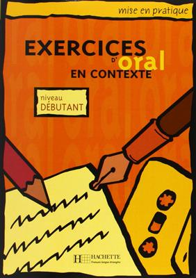 خرید کتاب فرانسه Exercices D'Oral En Contexte niveau debutants + CD