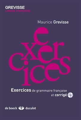 خرید کتاب فرانسه Exercices de grammaire francaise et corrigé - grevisse