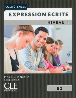 خرید کتاب فرانسه Expression ecrite 4 - Niveau B2 - 2eme edition