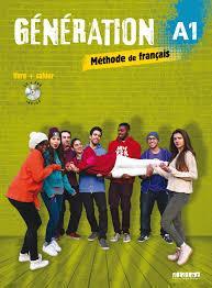 خرید کتاب فرانسه Generation 1 niv. A1 - Livre + Cahier + CD mp3 + DVD