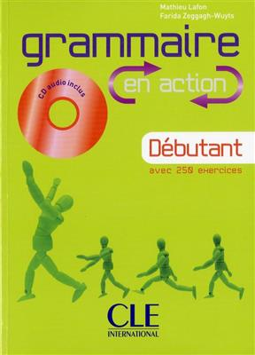 خرید کتاب فرانسه Grammaire en action - Debutant + CD
