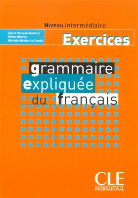 خرید کتاب فرانسه Grammaire expliquee - intermediaire - Exercices