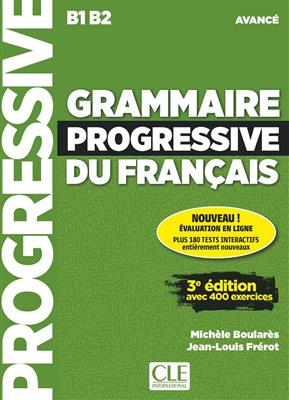 خرید کتاب فرانسه Grammaire progressive - avance + CD - 2eme edition