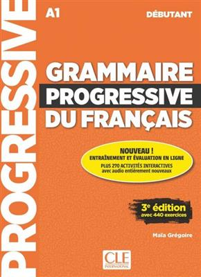خرید کتاب فرانسه Grammaire progressive - debutant  + CD - 3eme