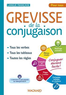 خرید کتاب فرانسه Grevisse de la conjugaison