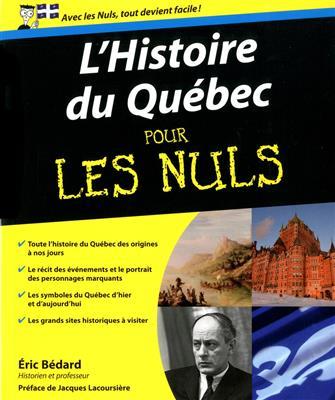 خرید کتاب فرانسه Histoire du Quebec pour les nuls