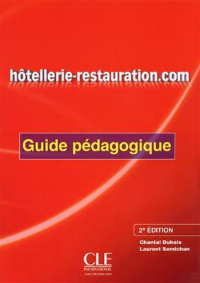 خرید کتاب فرانسه Hotellerie-restauration.com - Guide pedagogique - 2eme edition