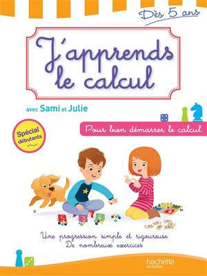 خرید کتاب فرانسه J'apprends le calcul avec Sami et Julie