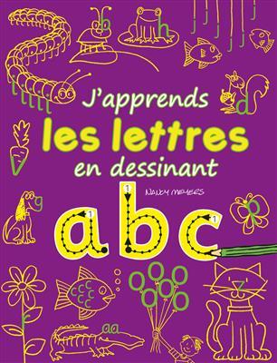 خرید کتاب فرانسه J'apprends les lettres en dessinant : abc