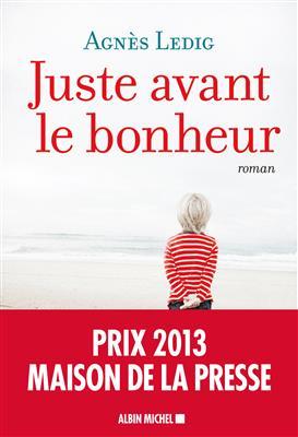 خرید کتاب فرانسه Juste avant le bonheur قبل از خوشبختی