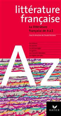 خرید کتاب فرانسه La litterature francaise de A à Z