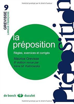 خرید کتاب فرانسه La preposition Regles