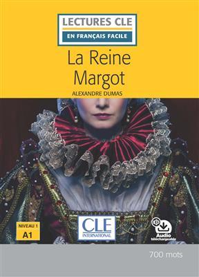 خرید کتاب فرانسه La reine Margot - Niveau 1/A1 + CD