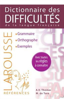 خرید کتاب فرانسه Larousse Dictionnaire des difficultes de la langue francaise