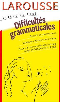 خرید کتاب فرانسه Larousse Difficultés grammaticales
