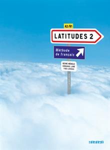 خرید کتاب فرانسه Latitudes 2 niv.2 + Cahier + CD