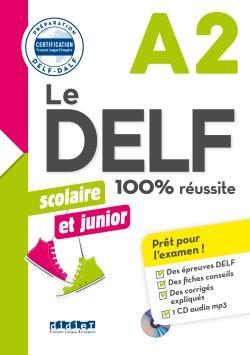خرید کتاب فرانسه Le DELF scolaire et junior - 100% réussite - A2