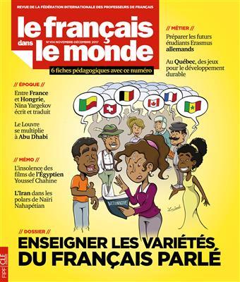 خرید کتاب فرانسه Le Francais dans le monde - N414 - novembre - desembre 2017