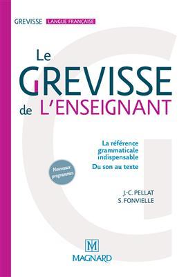 خرید کتاب فرانسه Le Grevisse de l'enseignant - Grammaire de reference
