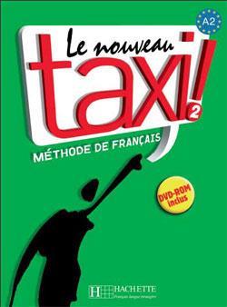 خرید کتاب فرانسه Le Nouveau Taxi  2 + Cahier + DVD-ROM